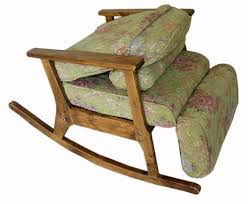 Modern Rocking Chair Png Vintage Furniture Modern Wood Rocking Chair For Aged People