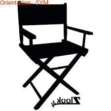 chaise r alisateur sticker chaise de réalisateur atomistickers fr