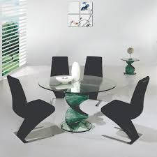 Modern Glass Kitchen Tables by Dining Room Round Table Dining Room Decor Ideas And Showcase Design