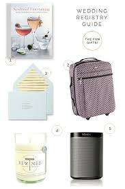 how to make a wedding registry wedding registry gift guide
