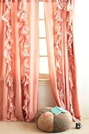 Coral Blackout Curtains Wandering Pleats Curtain Coral Colored Blackout Curtains Coral