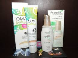 Olay Bb olay fresh effects bb vs aveeno clear complexion bb