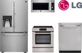 kitchen appliance bundle herrlich lg kitchen appliance bundle lg black diamond 4 piece
