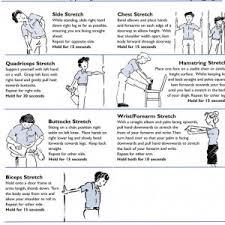 exercice au bureau étirements et exercices pour le bureau clinique solution santé
