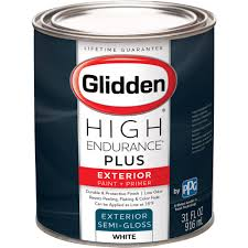 glidden high endurance plus exterior paint and primer semi gloss
