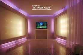 Led Light For Ceiling Tray Ceiling Led Lighting How To Install Led Light Strips And Rgb