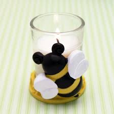 bee baby shower bumble bee baby shower candle favor baby shower candles baby