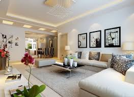 especial home living room together with black colored sofas