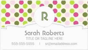 girly pattern business cards page 1 girly business cards