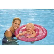 Swimways Baby Spring Float Sun Canopy Blue swimways 11616 baby spring float disney princess island beach gear