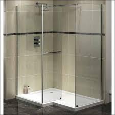 bathroom foxy decorating ideas using rectangular glass shower