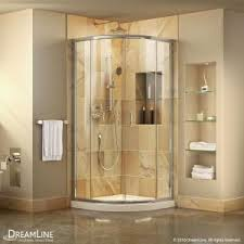 cerise 39 in x 78 in frameless shower enclosure in chrome with