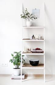 White Bookcase Ideas 36 Ladder Shelves Ideas Furniture Decorative Ladder Shelves