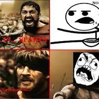 This Is Sparta Meme - leonidas meme 28 images vamonos a la playaaaaaa leonidas 300