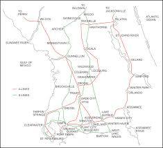 Tampa Bay Map Tampa Bay Trains Tampa Bay Lines North Tampa Bay Lines South