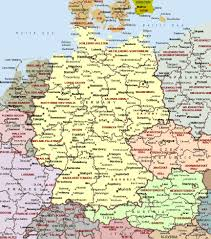 map of gemany cities of germany on detailed map detailed map of cities of