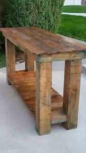 Diy Console Table Plans by Wood Pallet Sofa Table Centerfieldbar Com