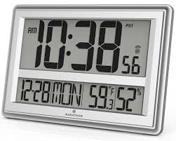 bedroom clocks cool atomic alarm clocks with weather predictions for the