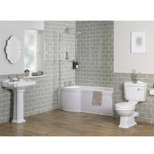 traditional bathroom suite with left hand p shape shower bath abbey traditional bathroom suite with left hand p shape shower bath
