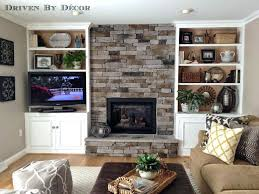 Concrete For Fireplace by Manufactured Stone For Fireplace As The Fireplace Surround Is Re