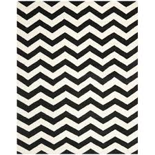 White And Black Area Rug Flooring Charming Chevron Rug With Beautiful Colors For Home