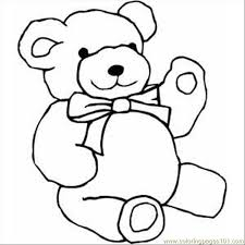 teddy bear coloring page free care bears coloring pages