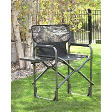 Tall Directors Chair With Side Table Tall Folding Directors Chair With Side Table Aluminum Earth