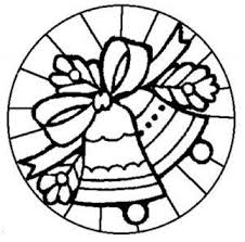 stained glass coloring pages kids