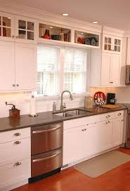 Kitchen Small Galley Kitchen Makeover With Brick by Best 25 Galley Kitchen Redo Ideas On Pinterest Small Kitchen