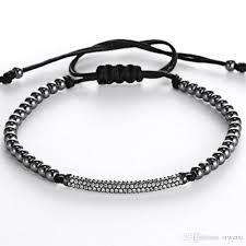 men bracelet images 2016 men jewellery anil arjandas men bracelets micro inlay zircon jpg
