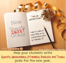 Smart Goals Worksheet For Kids Hello Sunshine Smart Goal Setting For The New Year