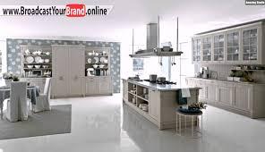 vintage küche vintage küche design idee blaue tapeten blumenmuster