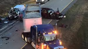 Texarkana Weather Radar Map 3 Killed 7 Injured In I 49 Pileups Near Fouke Arkansas In Dense