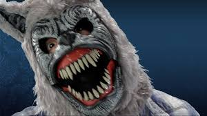 halloween city masks werewolf mask ani motion mask youtube