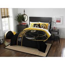 boston bruins bedroom boston bruins nhl comforter set by the northwest at bedding com