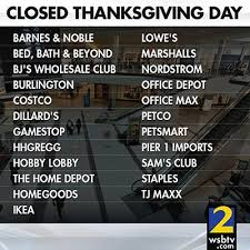 you won t find these stores open on thanksgiving day scoopnest