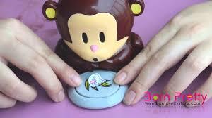 bornprettystore cute monkey nail dryer nail art equipment youtube