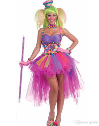 Size Halloween Costumes Men Halloween Costumes Women Tutu Lulu Clown Costume