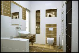 great contemporary small bathroom design taking rectangular white