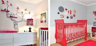 idee chambre bebe fille design interieur idées décoration murale créative chambre bébé