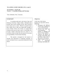 k 12 grade 9 module in health prenatal development pregnancy
