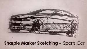 how to draw cars with a sharpie marker youtube