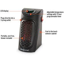 lifesmart wall outlet personal space heater 669208 home heaters