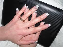 photo ongles gel french original photo de modèles passion u0027nail ongle en gel