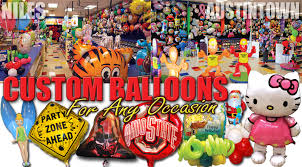 custom balloon bouquet delivery custom balloons in ohio ohio balloon store serving niles