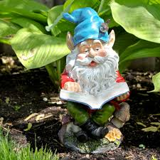 Lawn Gnome by Laughing Garden Gnome Statue Hayneedle