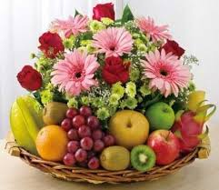 flower fruit filipinas gifts flowers mix fruit basket