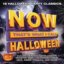 halloween songs for kids various now that u0027s what i call halloween amazon com music