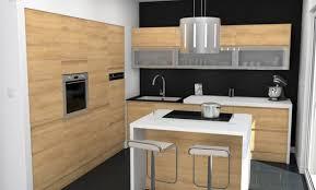 cuisine chene clair moderne design cuisine chene noir 18 denis cuisine chene naturel