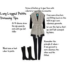 10 long legged petite dressing tips inside out style